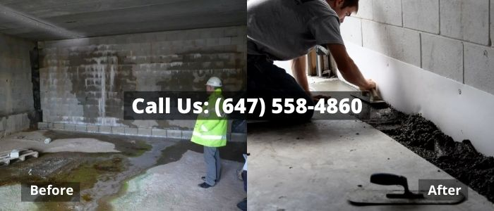Basement Waterproofing in Burlington