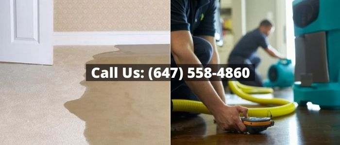 Water Damage Restoration in Bowmanville