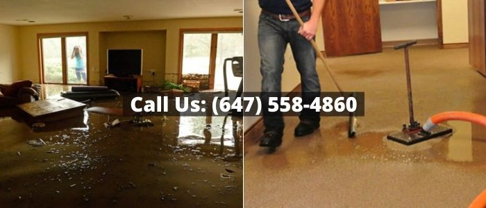 Water Damage Restoration in Caledon
